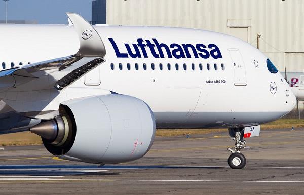 Lufthansa-მ ჩინეთის მიმართულებით ყველა რეისი გააუქმა