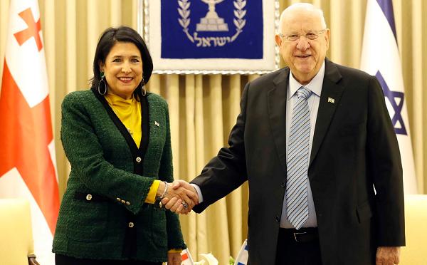 ისრაელში საქართველოს მოქალაქეების ლეგალურად დასაქმების პროცესის დაჩქარებაზე საქართველოს პრეზიდენტმა ისრაელის პრეზიდენტისგან თანხმობა მიიღო