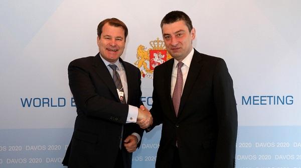 საქართველო არის საუკეთესო ქვეყანა ეკონომიკური რეფორმების მეორე ტალღის მქონე ქვეყნებს შორის - EBRD-ის პირველი ვიცე-პრეზიდენტი გიორგი გახარიას