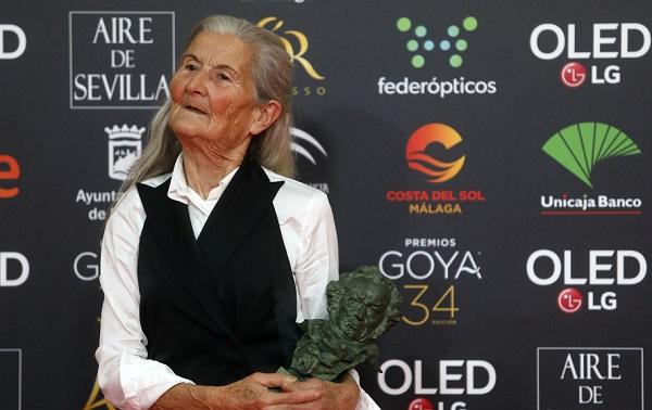 84 წლის ბენედიქტა სანჩესს ესპანეთის საუკეთესო ახალბედა მსახიობის ჯილდო გადაეცა