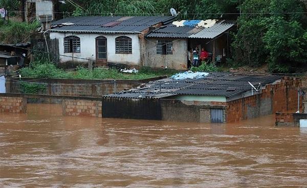 წყალდიდობას ბრაზილიაში 57 ადამიანი ემსხვერპლა