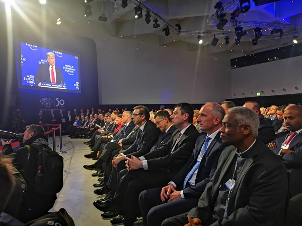 პრემიერ-მინისტრი დავოსის მსოფლიო ეკონომიკური ფორუმის გახსნის ოფიციალურ ცერემონიას დაესწრო