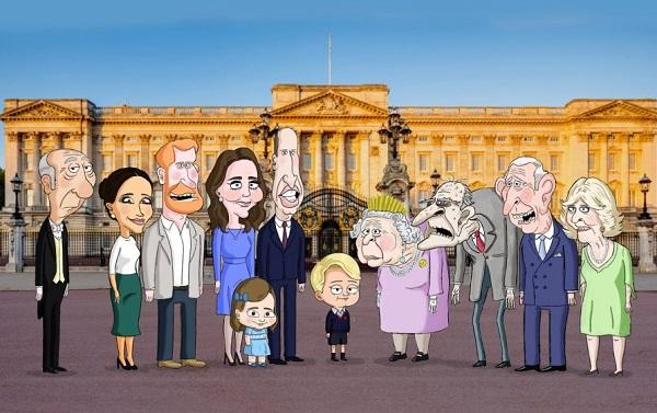 HBO ბრიტანეთის სამეფო ოჯახზე ანიმაციურ სერიალს გადაიღებს