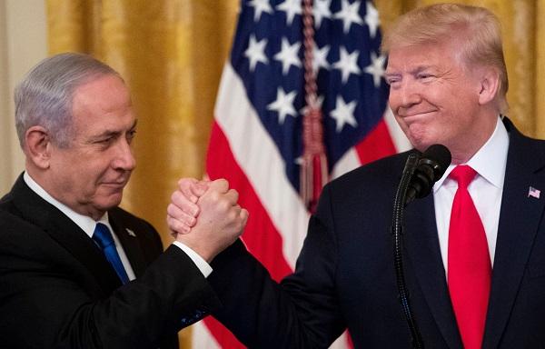 """ტრამპმა """"ახლო აღმოსავლეთის სამშვიდობო გეგმა"""" წარადგინა"""