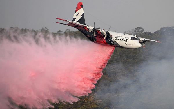 ავსტრალიაში გაუჩინარდა თვითმფრინავი, რომელიც ტყის ხანძარს აქრობდა
