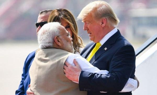 დონალდ ტრამპი ინდოეთს ეწვია