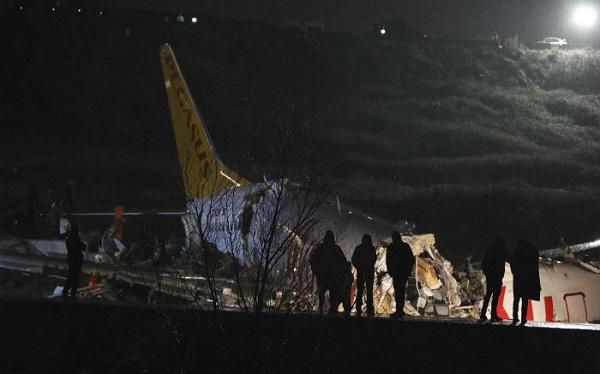 სტამბოლის თვითმფრინავის ავარიული დაშვებისას მსხვერპლთა რაოდენობა გაიზარდა