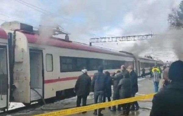 ზუგდიდი - თბილისის სამგზავრო მატარებელს აბაშაში ცეცხლი გაუჩნდა