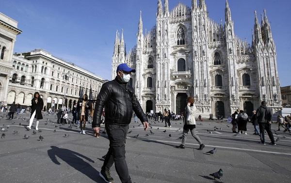 იტალიაში კორონავირუსით ინფიცირებულთა რაოდენობამ 1000-ს გადააჭარბა