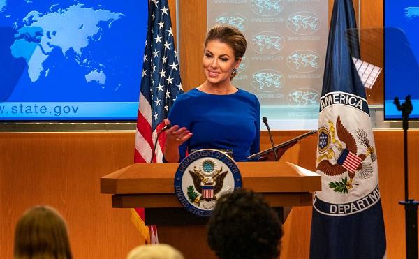 აშშ გმობს რუსეთის მიერ განხორციელებულ აგრესიას უკრაინის წინააღმდეგ - მორგან ორტაგუსი