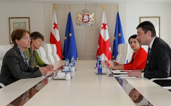 პრემიერმა ნიდერლანდებს საქართველოზე რუსეთის კიბერშეტევის დაგმობისა და ღია მხარდაჭერისთვის მადლობა გადაუხადა