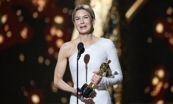 წლის საუკეთესო მსახიობი ქალი რენე ზელვეგერი გახდა
