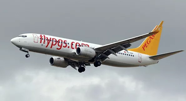 Pegasus Airlines-ისთვითმფრინავი ძრავში ფრინველის მოხვედრის გამო უკან დაბრუნდა