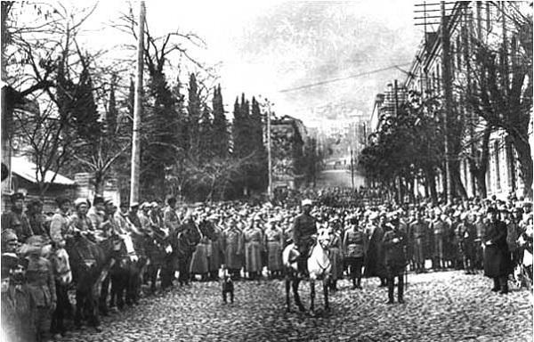 საბჭოთა რუსეთის მიერ საქართველოს ოკუპაციიდან 99 წელი გავიდა