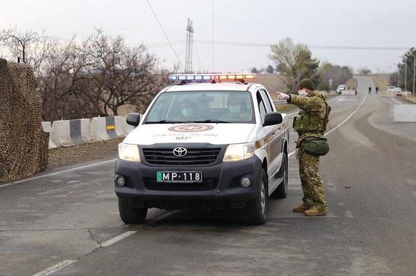 თავდაცვის ძალების სამხედრო პოლიციის დეპარტამენტი მკაცრ საკარანტინო ზონაში პრევენციულ მოქმედებებს ახორციელებს