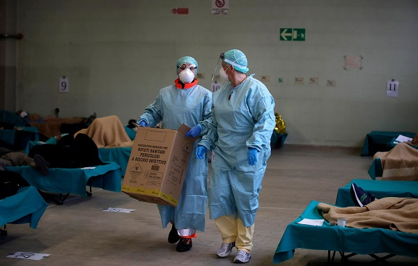 იტალიაში კორონავირუსს 66 ექიმი ემსხვერპლა