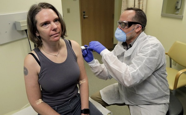 აშშ-ში კორონავირუსის ვაქცინის ტესტირება დაიწყო