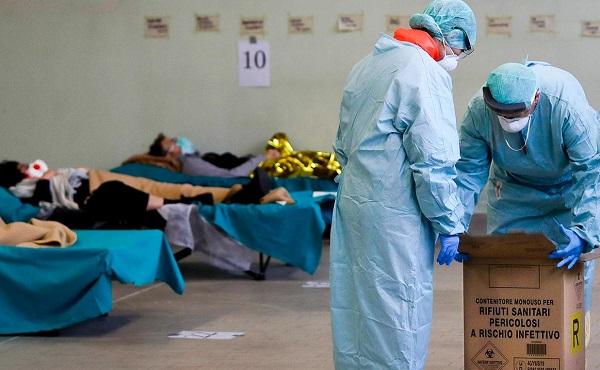 იტალიაში კორონავირუსით ინფიცირებულთა რაოდენობამ 100 ათასს გადააჭარბა