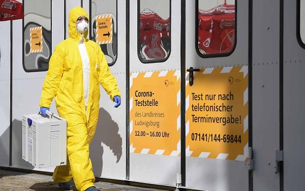 ბოლო 24 საათში გერმანიაში კორონავირუსით ინფიცირების 3000-მდე შემთხვევა გამოვლინდა