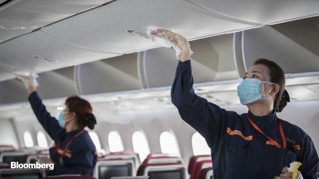 როგორ ხდება თვითმფრინავების დეზინფექცია?