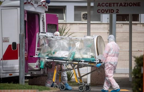 იტალიაში კორონავირუსით გარდაცვლილთა რაოდენობამ 10 000-ს გადააჭარბა