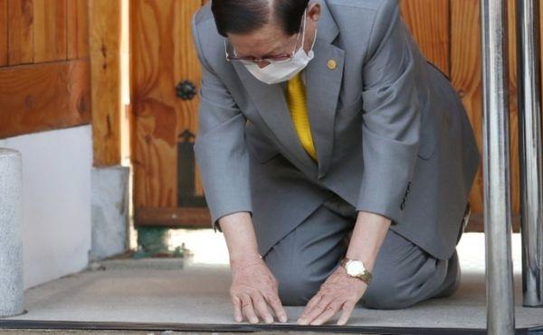 კორეული რელიგიური სექტის ლიდერმა კორონავირუსის გავრცელების გამო ბოდიში მოიხადა