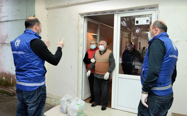 თბილისში მცხოვრებ ხანდაზმულებსა და სოციალურად შეჭირვებულ ოჯახებს ნობათები ურიგდებათ