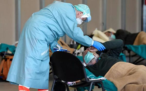 იტალიაში კორონავირუსით გარდაცვლილთა რაოდენობამ 13 155-ს მიაღწია