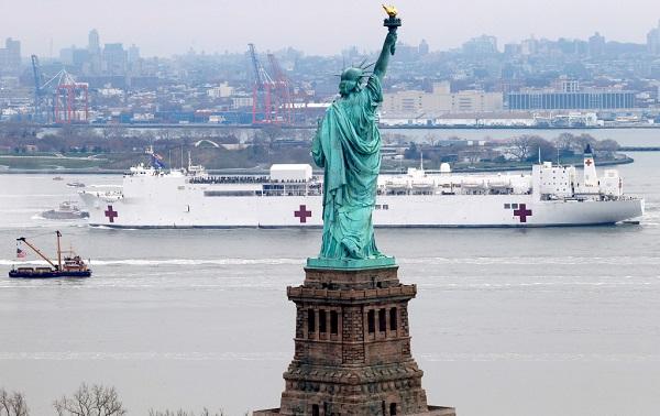 ნიუ იორკის შტატში კორონავირუსს 2 373 ადამიანი ემსხვერპლა