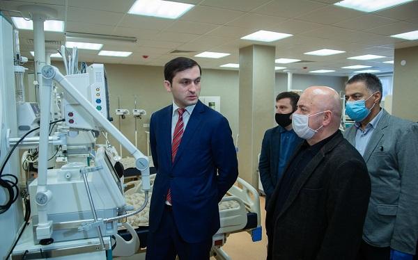 ბათუმის რესპუბლიკური საავადმყოფო Covid-19-ით ინფიცირებული პაციენტების მიღებას დღეიდან შეძლებს
