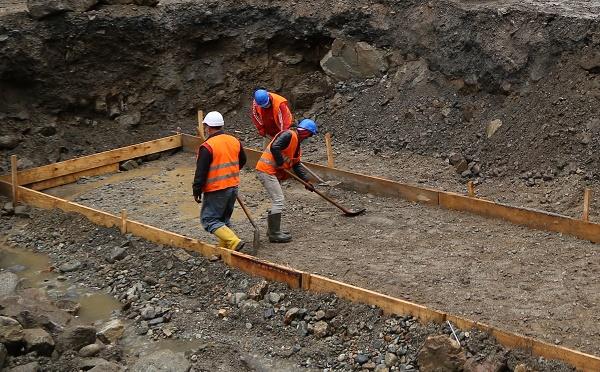 ნენსკრა ჰესის წინამოსამზადებელი სამშენებლო სამუშაოები ინტენსიურად გრძელდება