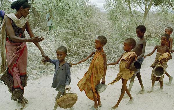 მსოფლიო ბიბლიური მასშტაბის შიმშილობის საფრთხის წინაშე აღმოჩნდება - გაერო