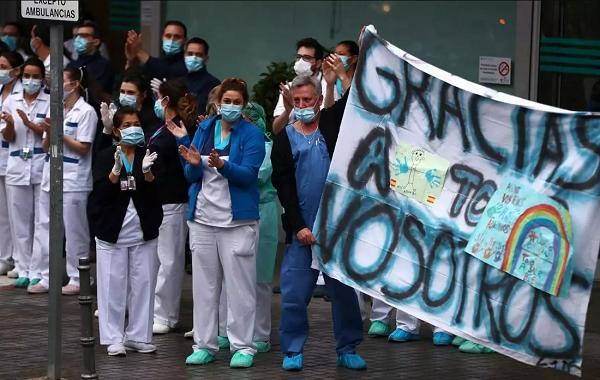 ესპანეთში კორონავირუსით გარდაცვალების შემთხვევათა კლების ტენდენცია ნარჩუნდება