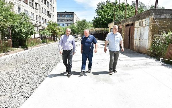 წყალტუბოს მუნიციპალიტეტში ინფრასტრუქტურული პროექტების განხორციელება აქტიურად მიმდინარეობს