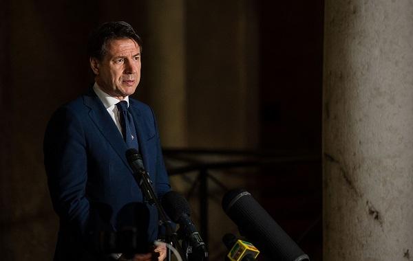 """თუ """"მწვანე დერეფნების"""" ინიციატივა ძალაში შევა, იტალია ევროკავშირს დატოვებს - ჯუზეპე კონტე"""