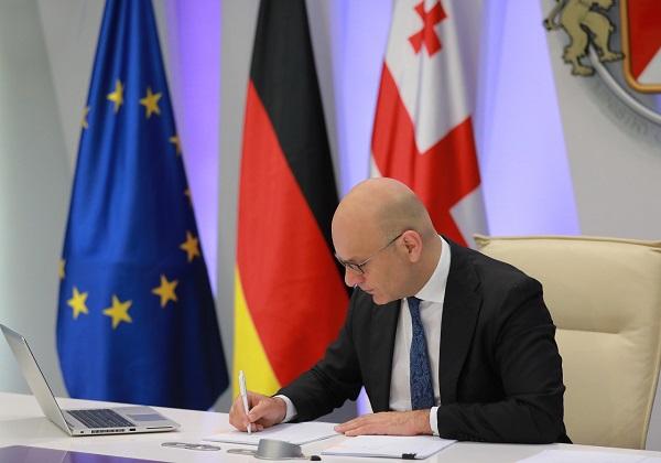საქართველო გერმანიის მთავრობისგან 90 მლნ ევროს ოდენობის ფინანსურ დახმარებას მიიღებს
