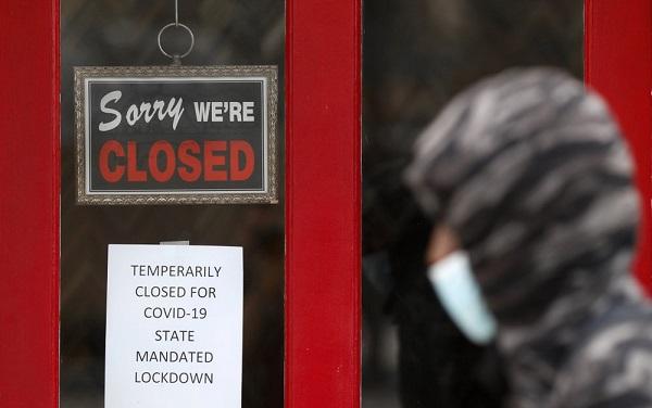 აპრილში ამერიკაში სამსახური 20.5 მილიონმა ადამიანმა დაკარგა