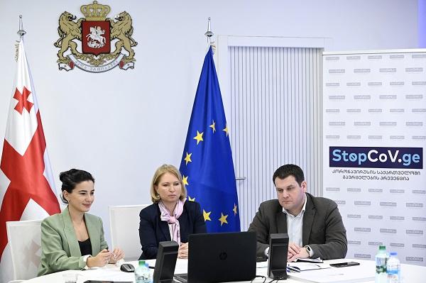 საბერძნეთის ტურიზმის მინისტრთან უსაფრთხო დერეფნების შექმნისთვის საჭირო მოთხოვნები განვიხილეთ - ნათია თურნავა