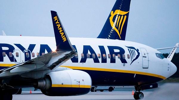 Ryanair-მა დაადასტურა, რომ ივლისში ფრენების 40%-ს აღდგენას გეგმავს