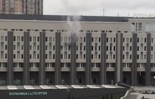 სანქტ პეტერბურგში საავადმყოფოში, სადაც კოვიდინფიცირებულები მკურნალობდნენ, ხანძარი გაჩნდა, დაიღუპა 5 პაციენტი