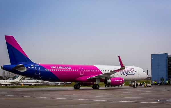 Wizz Air-ი ვილნიუსსა და ქუთაისს შორის პირდაპირ ფრენებს აღადგენს