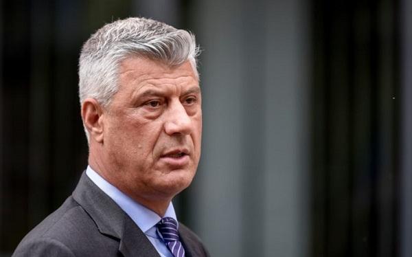 კოსოვოს პრეზიდენტს საგანგებო ტრიბუნალმა სამხედრო დანაშაულის ბრალდება წარუდგინა