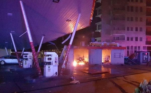 """თბილისში გაზგასამართი სადგური """"ეკოგაზი"""" აფეთქდა   - დაშავდა ერთი ადამიანი"""