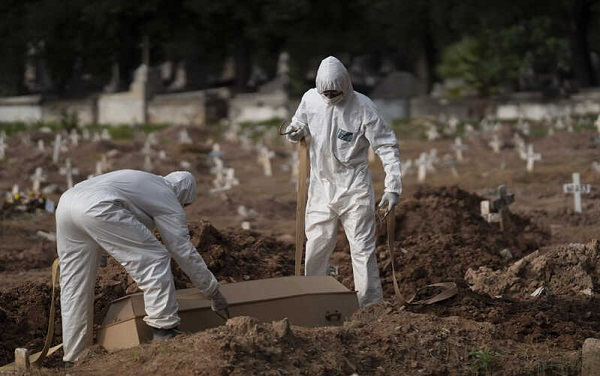 ბრაზილიაში კორონავირუსით გარდაცვლილთა რაოდენობამ 40 ათასს გადააჭარბა