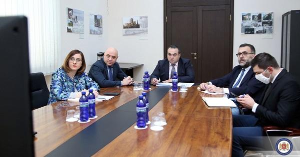 საქართველოს დელეგაციამ ჟენევის საერთაშორისო მოლაპარაკებების თანათავმჯდომარეებთან მორიგი ონლაინ შეხვედრა გამართა