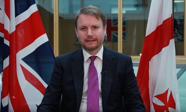 ვულოცავ საქართველოს ხალხს, მათი ნება ურყევია - ბრიტანეთის ელჩი საკონსტიტუციო ცვლილებების დამტკიცებას მიესალმება