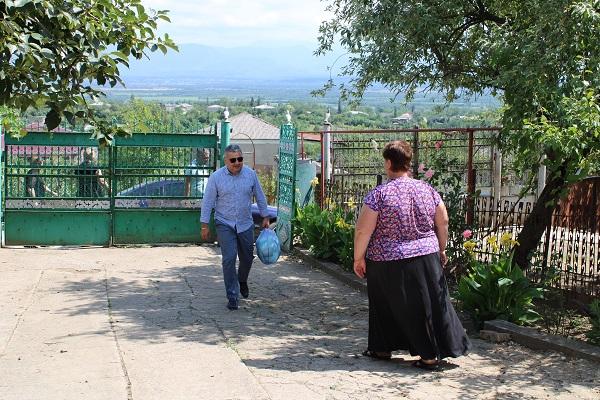 თერჯოლის მუნიციპალიტეტის მერის მოვალეობის შემსრულებელი ლაშა გოგიაშვილი ნახშირღელეში იმყოფებოდა