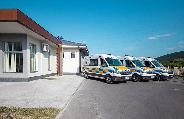 შიდა ქართლის რეგიონში სასწრაფო სამედიცინო დახმარების ავტომობილები განახლდა