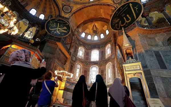 მოზაიკებს შევინარჩუნებთ, არ შევეხებით, თუმცა ლოცვების დროს დავფარავთ - თურქეთი