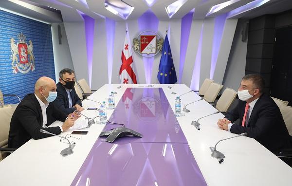 ფინანსთა მინისტრი ივანე მაჭავარიანი ევროპის საბჭოს ოფისის ხელმძღვანელს შეხვდა